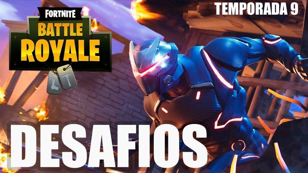 Desafíos Fortnite Battle Royale Temporada 9