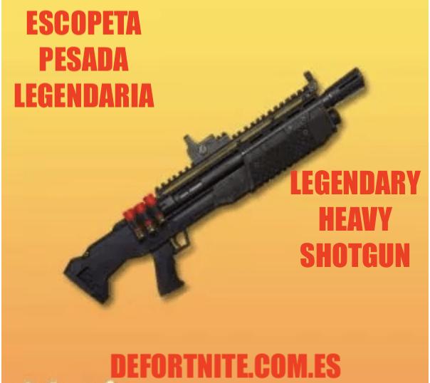 Escopeta pesada legendaria