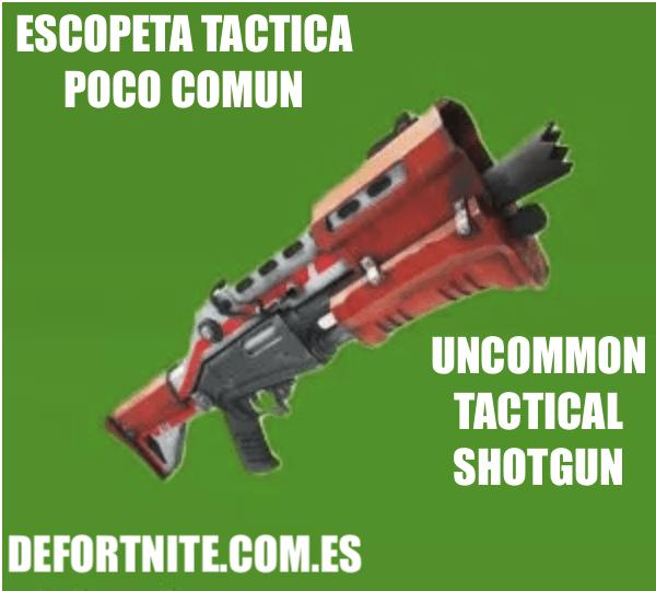 Escopeta táctica poco común