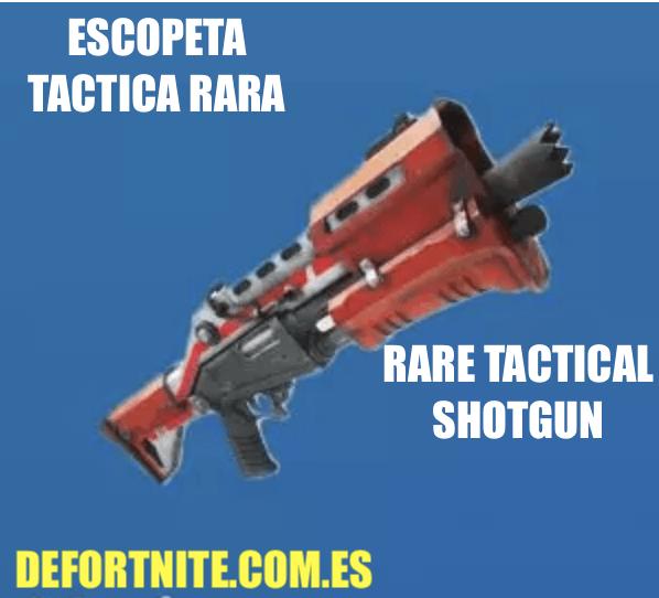 Escopeta táctica rara