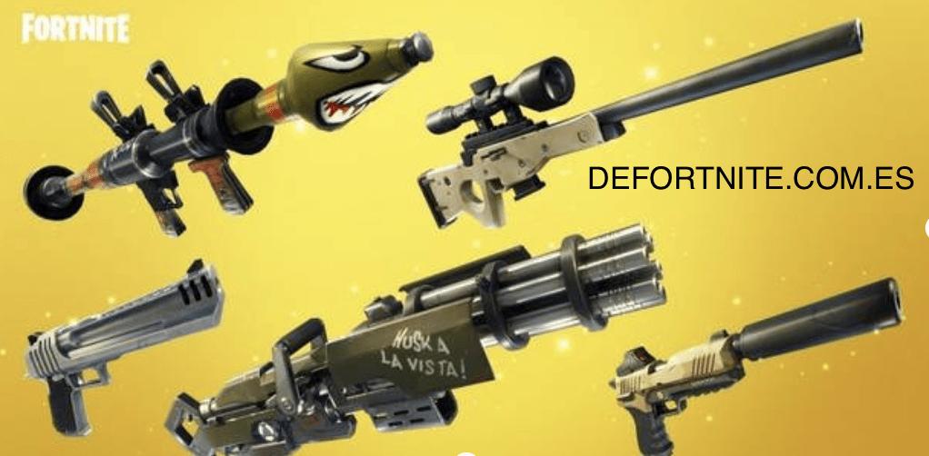 Fortnite Battle Royale: TODAS las armas - ¿Cuáles son las mejores?