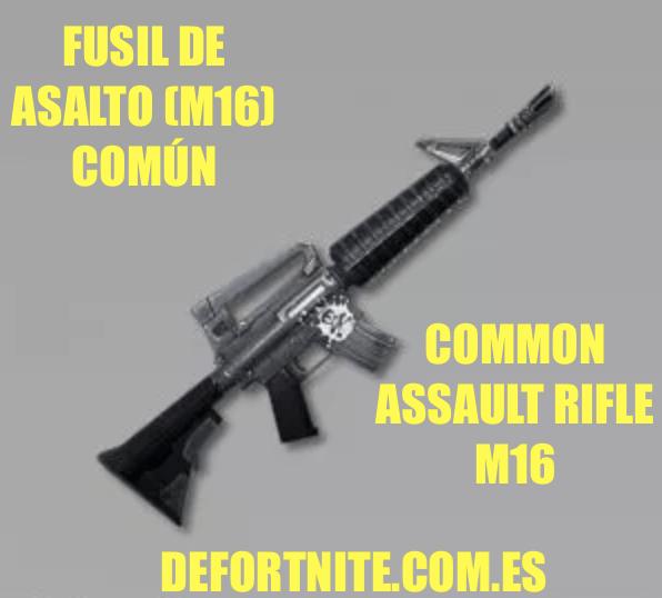 Fusil de asalto M4 común