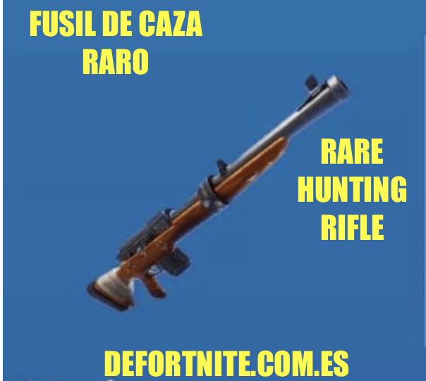 Fusil de caza raro