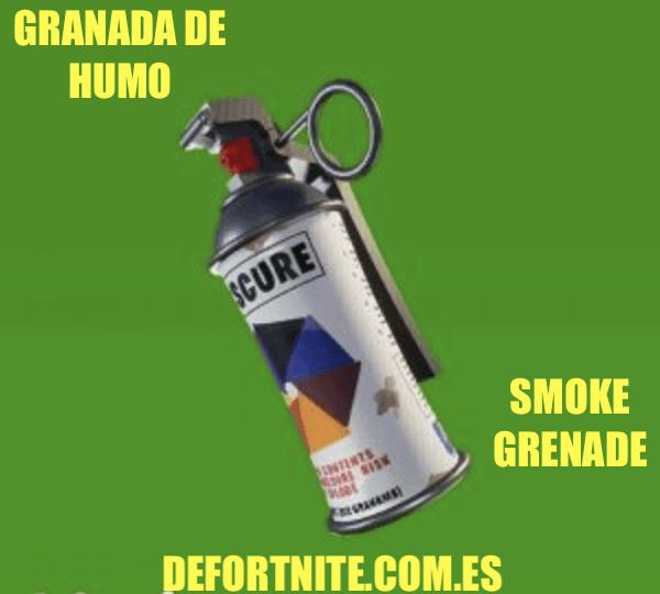 Granada de humo