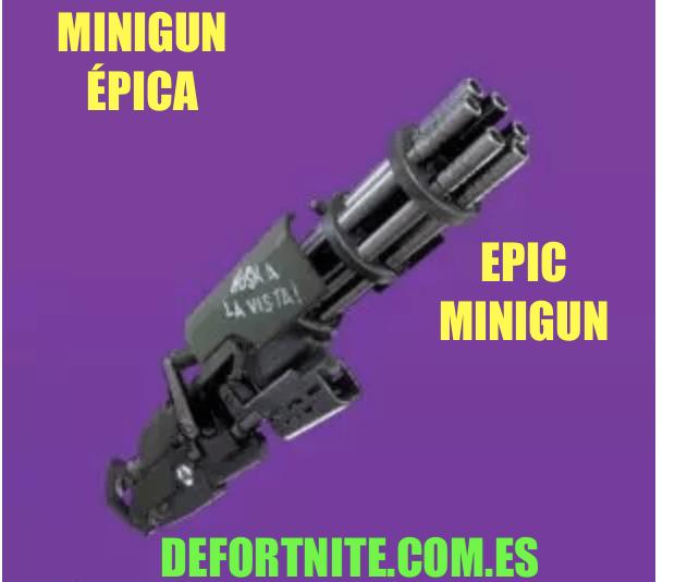 Minigun épica