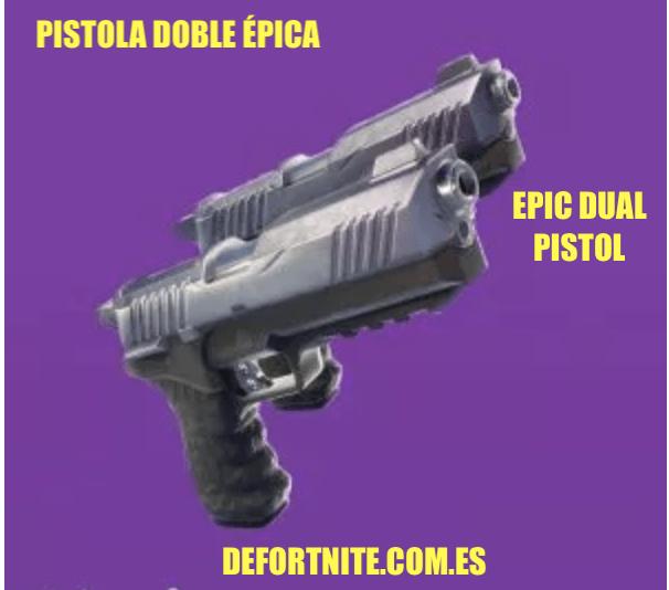 Pistola doble épica