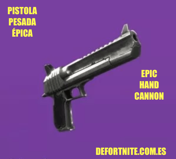Pistola pesada épica