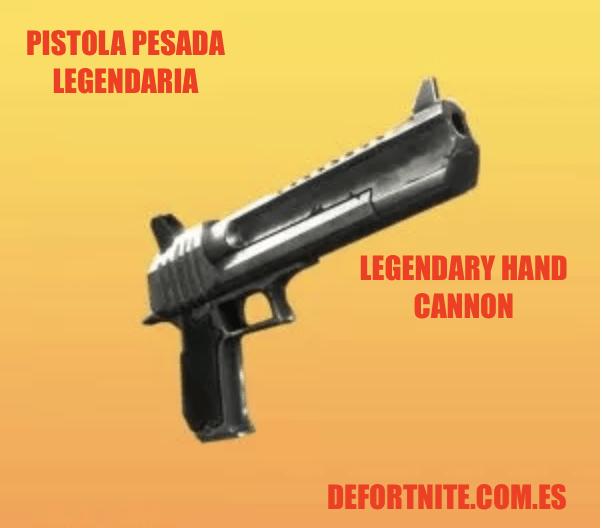 Pistola pesada legendaria