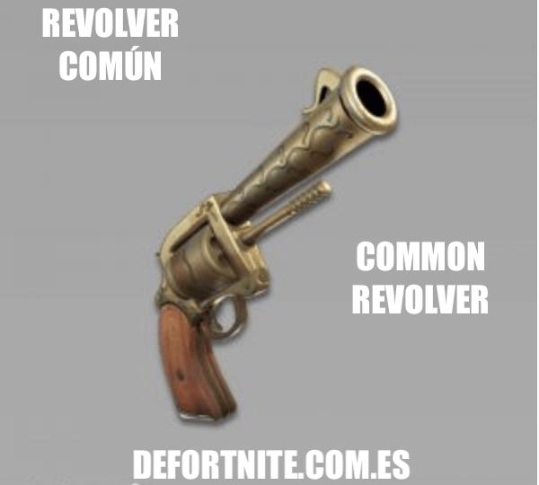 Revolver común