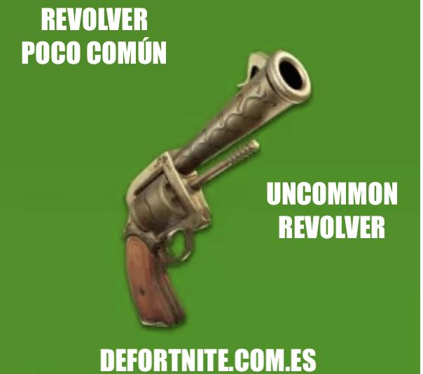 Revolver poco común