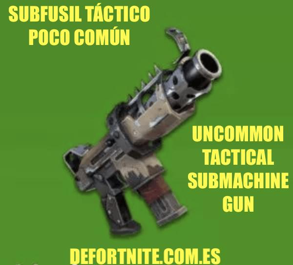 Subfusil-táctico-poco-común