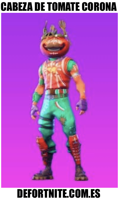 cabeza de tomate corona