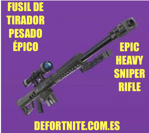Fusil de tirador pesado epico