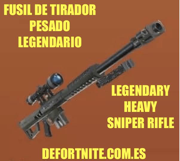 fusil de tirador pesado legendario