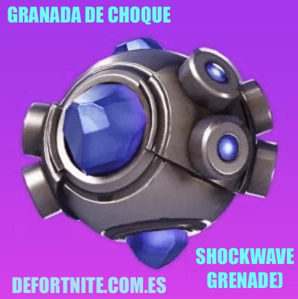 granada de choque