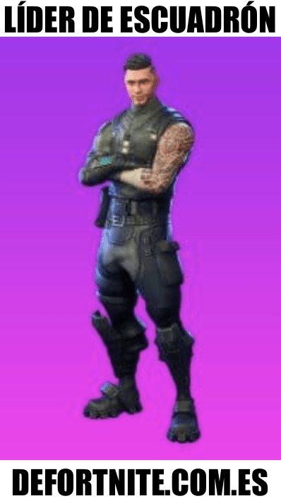 lider de escuadron