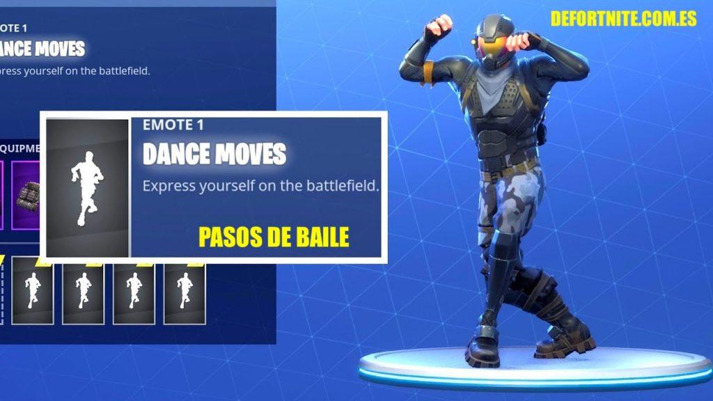 bailes de Fortnite dance moves