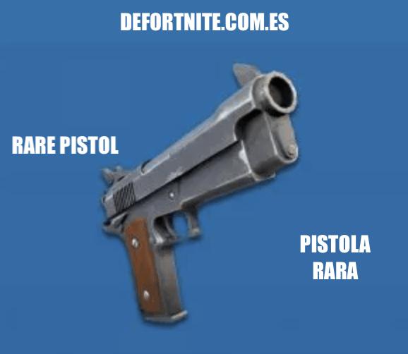 Pistola rara