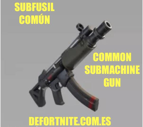 subfusil-común