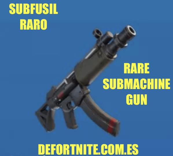 subfusil raro