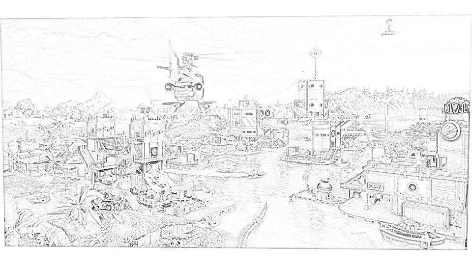 Dibujos de Fortnite Para Imprimir. 11