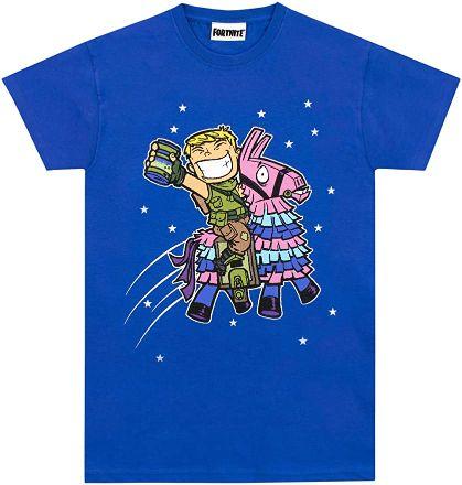 Fortnite-Camiseta-Manga-Corta-niños