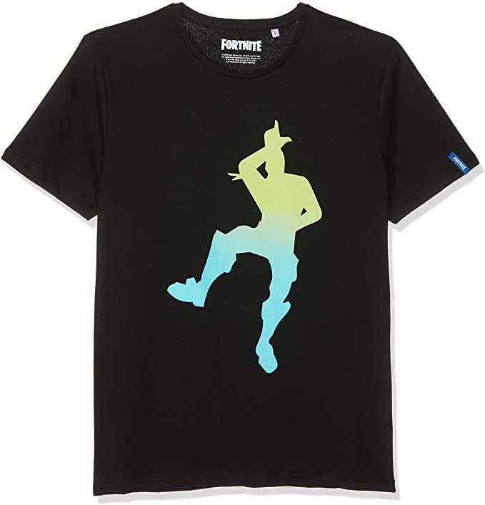 Fortnite-Take-Camiseta-color-oscuro-Camisetas-de-Fortnite