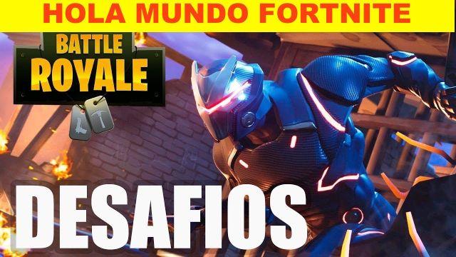 Hola-Mundo-Desafíos-Fortnite-Battle-Royale