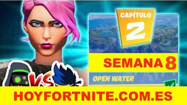 Fortnite - Semana 8 de Desafíos - Capítulo 2 (¡Salta!)